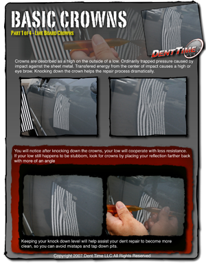 crown removal paintless dent repair manual